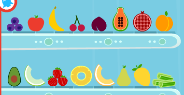 Some fruit icons I made for astroblast